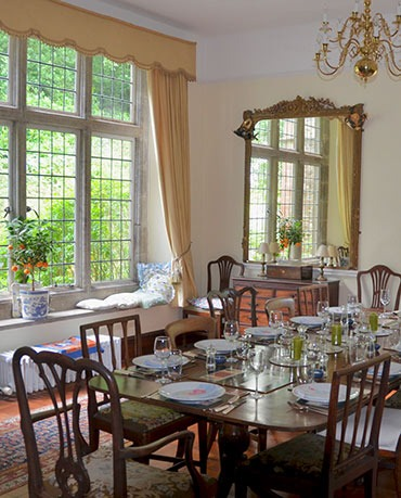 Coryton House dining room